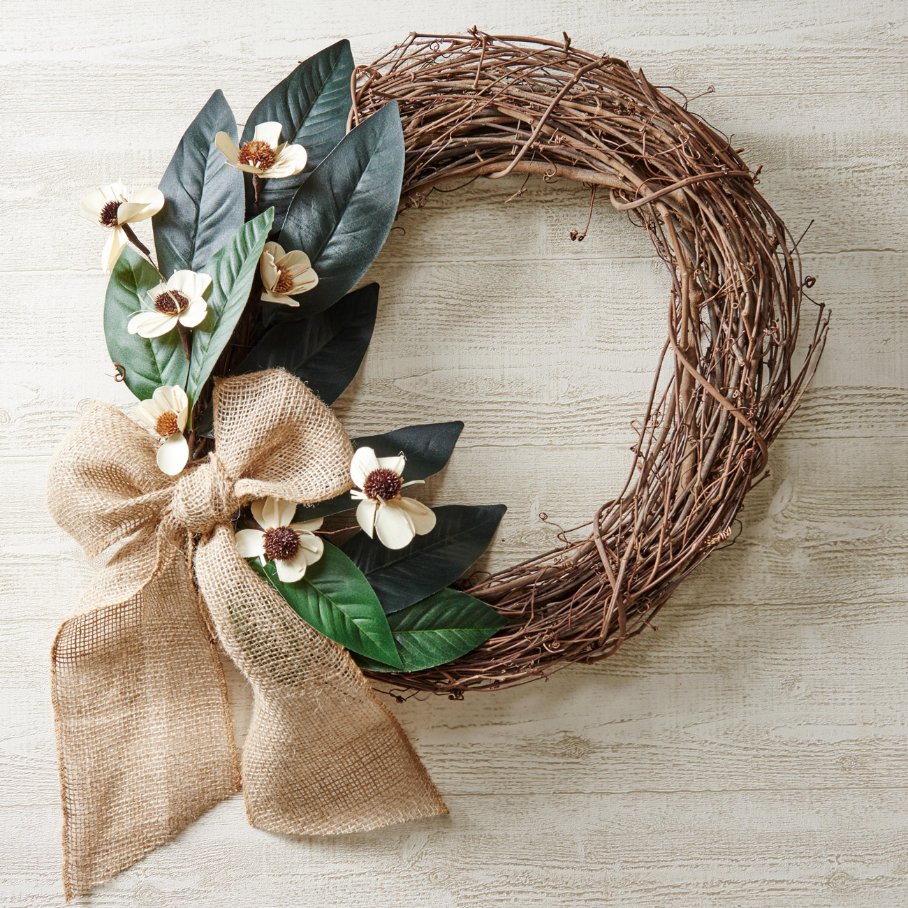 fall rustic wreath