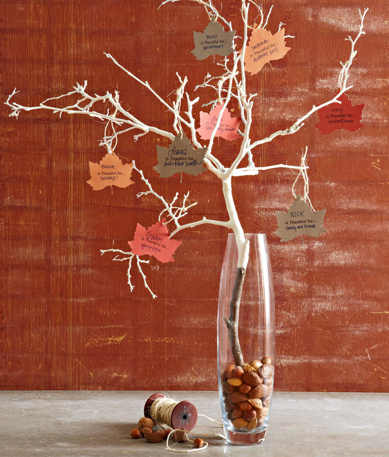 Thankful Tree Decoration