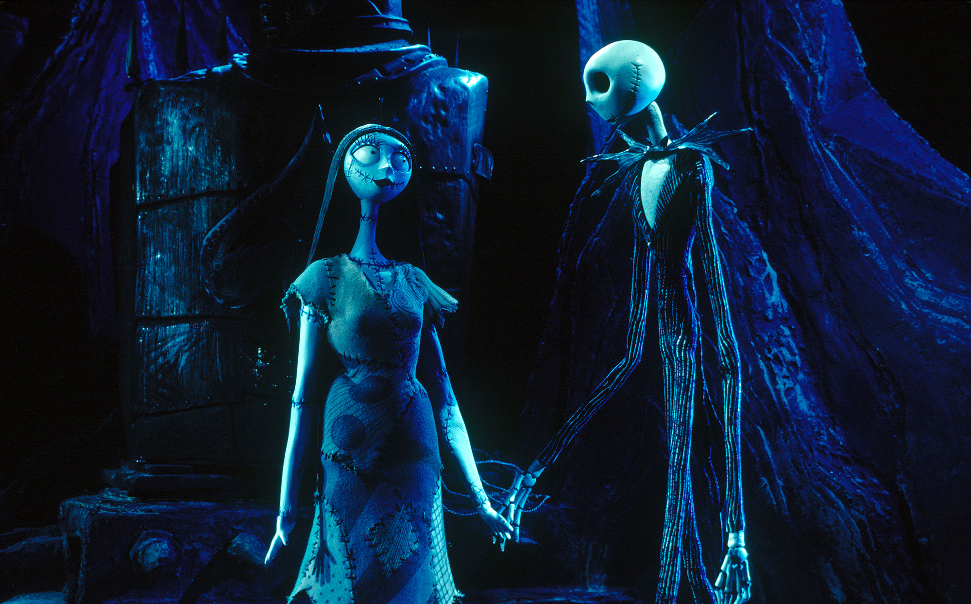 jack and sally the nightmare before christmas