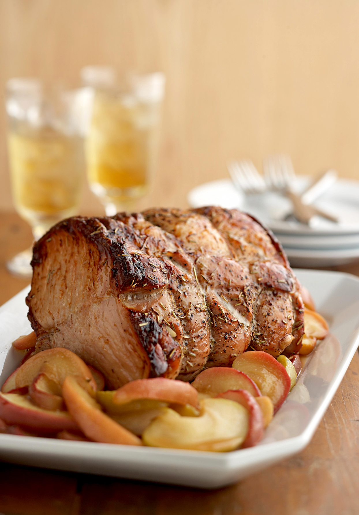 Saucy Apple Pork Roast