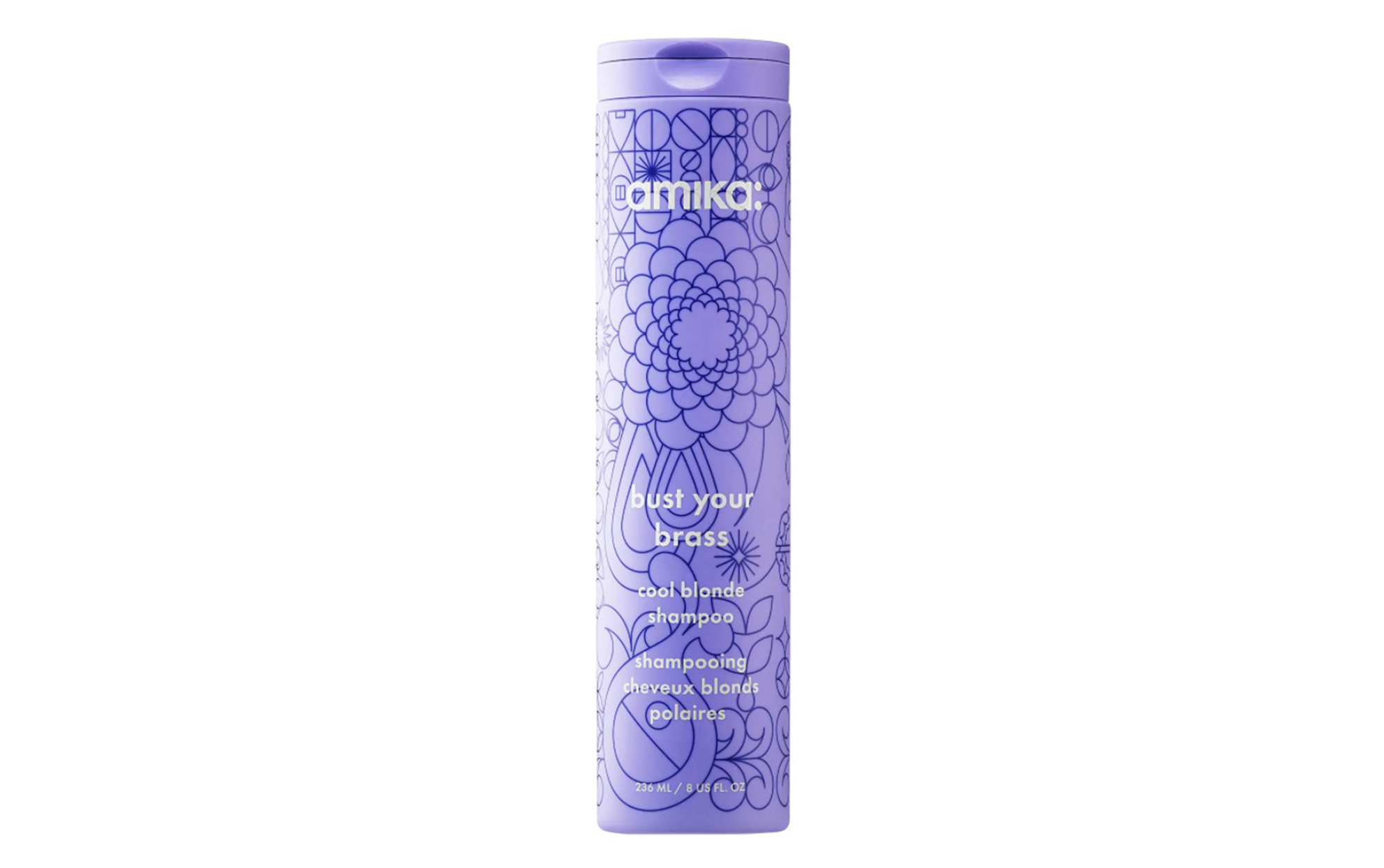 Amica bust your brass cool blonde shampoo
