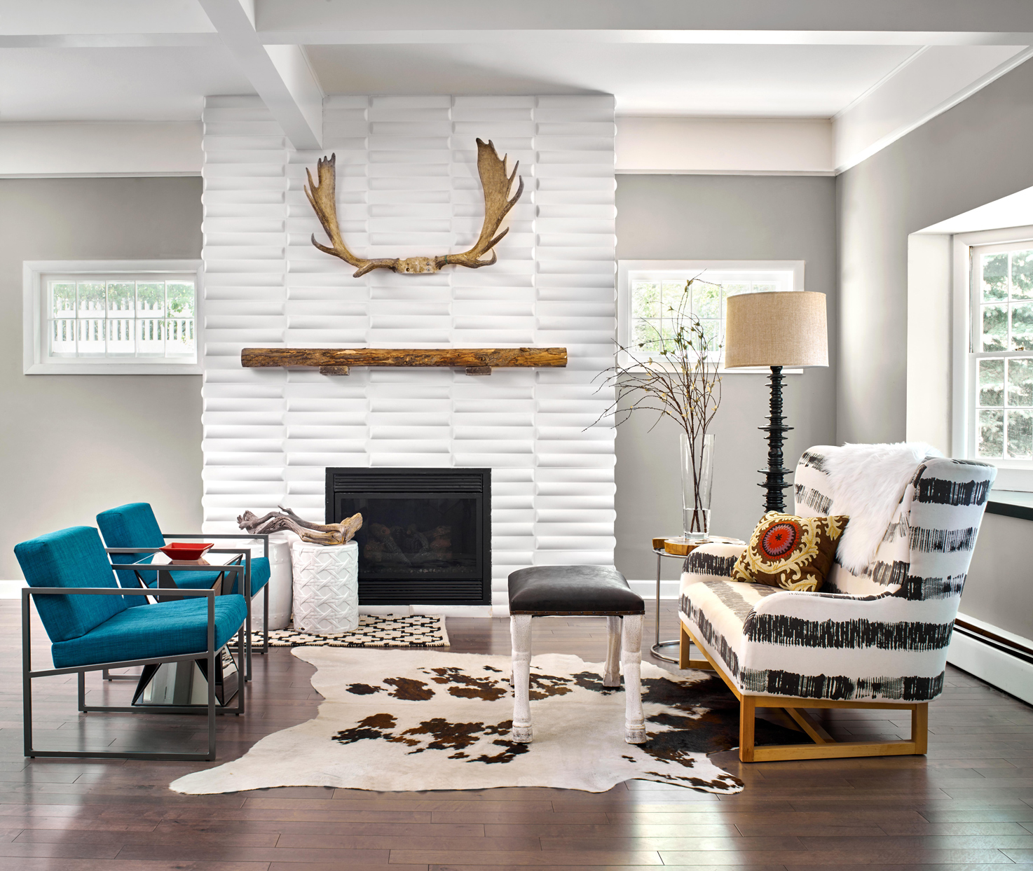 After: Modern Fireplace Design