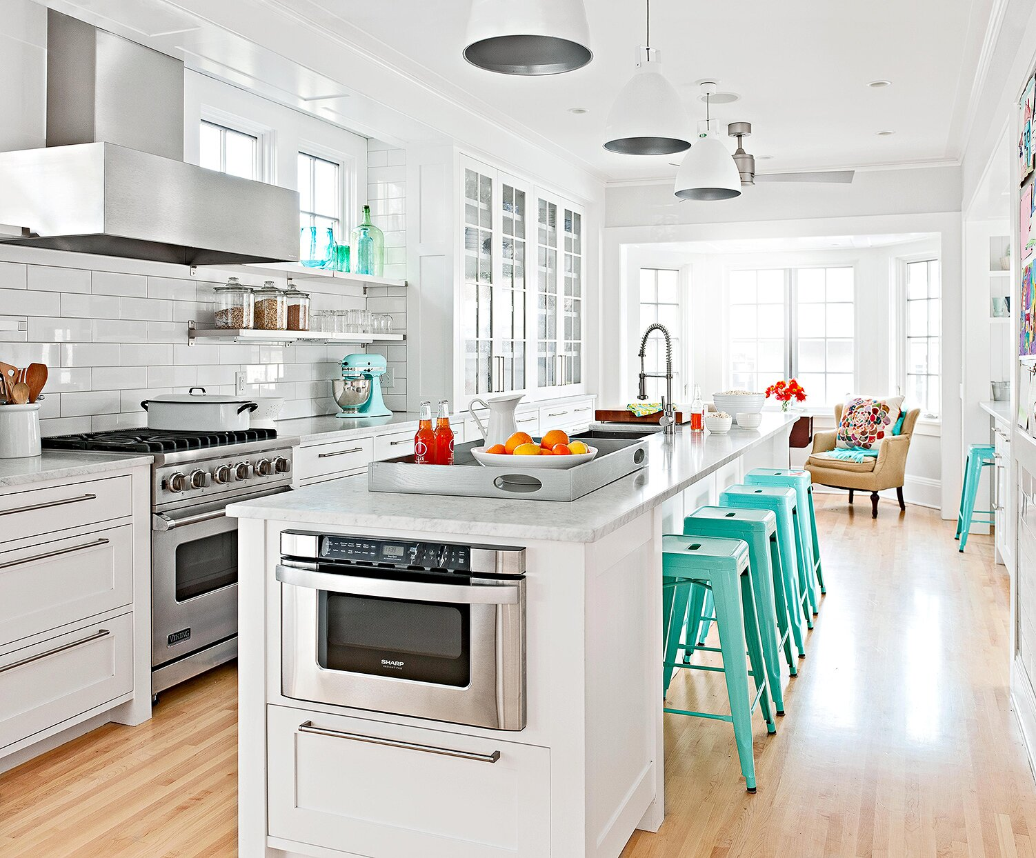 Our Favorite Kitchen Island Seating Ideas Perfect For Family And Friends Better Homes Gardens