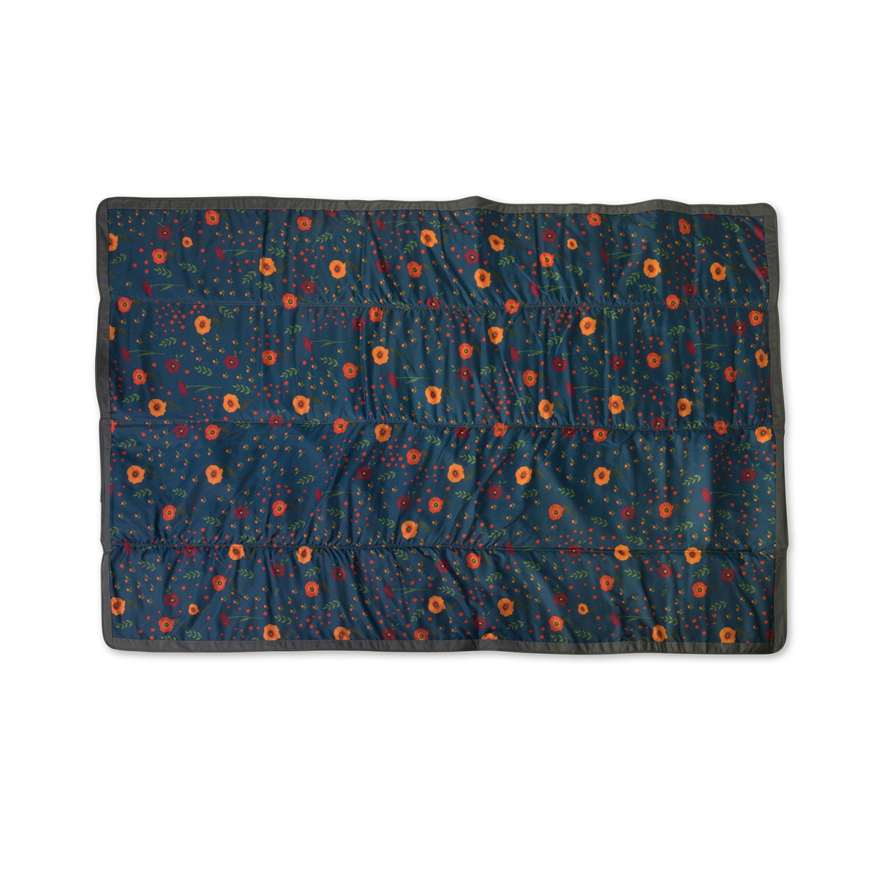 floral print outdoor blanket