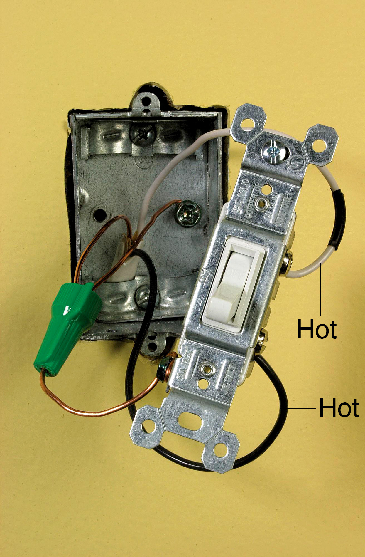 End-Line Switch Wiring