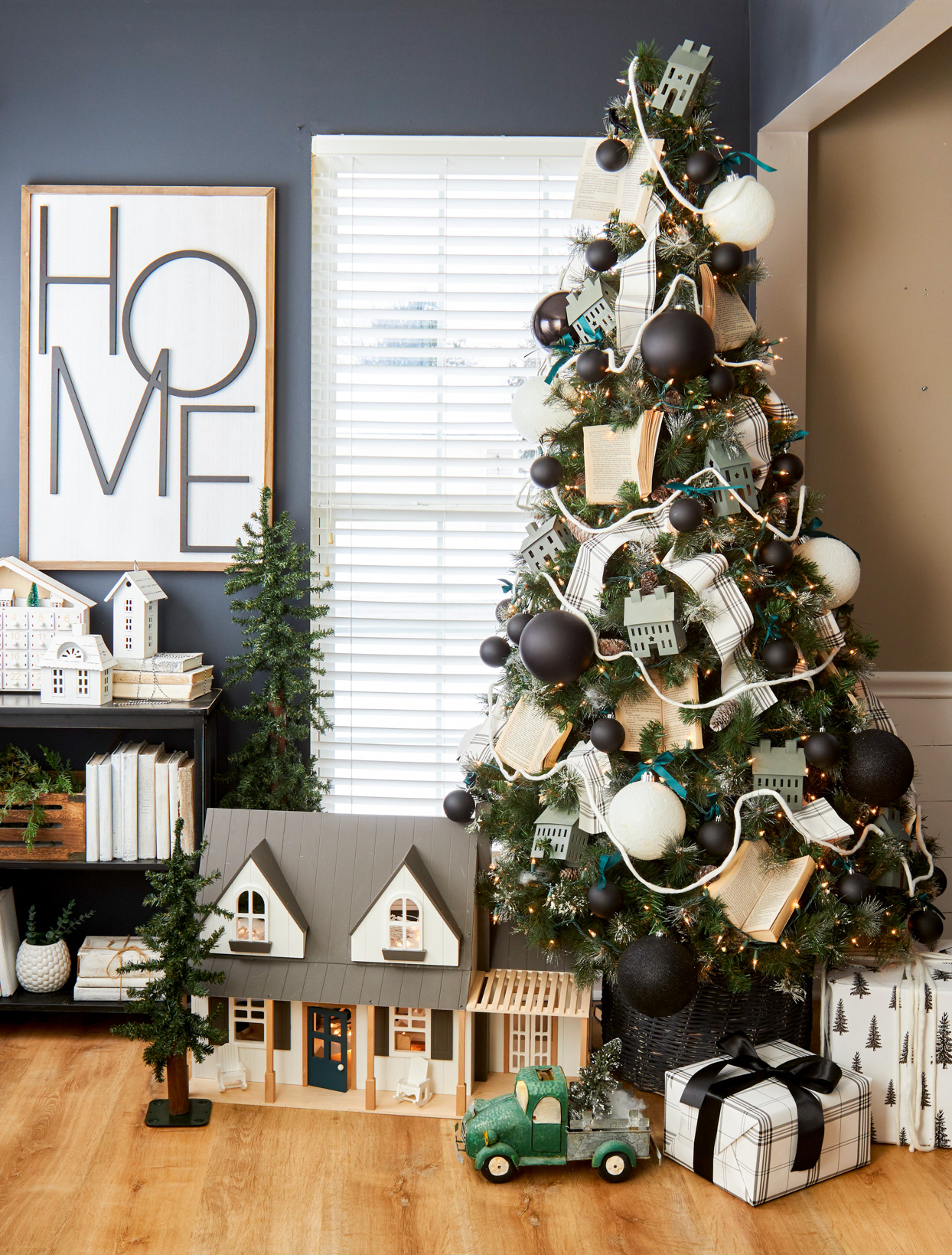 23 Farmhouse Christmas Decor Ideas To Make Your Space More Festive Better Homes Gardens