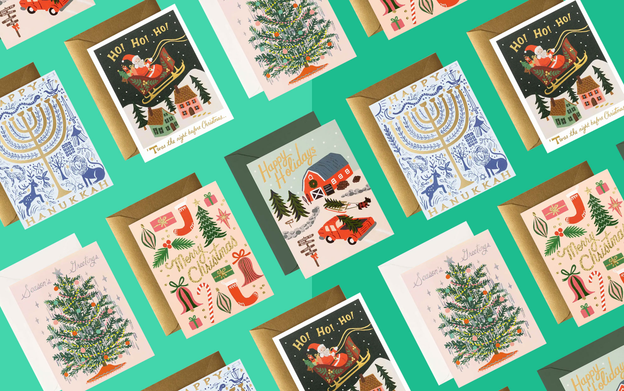rifle holiday cards