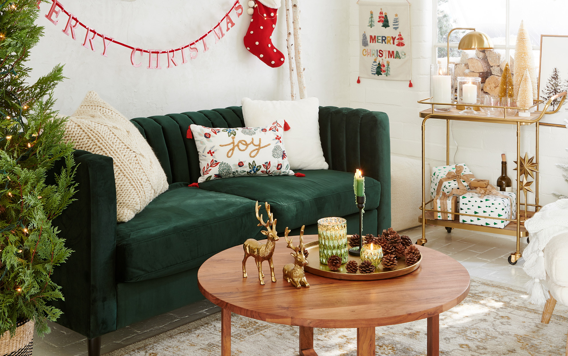 Target holiday home collection living room