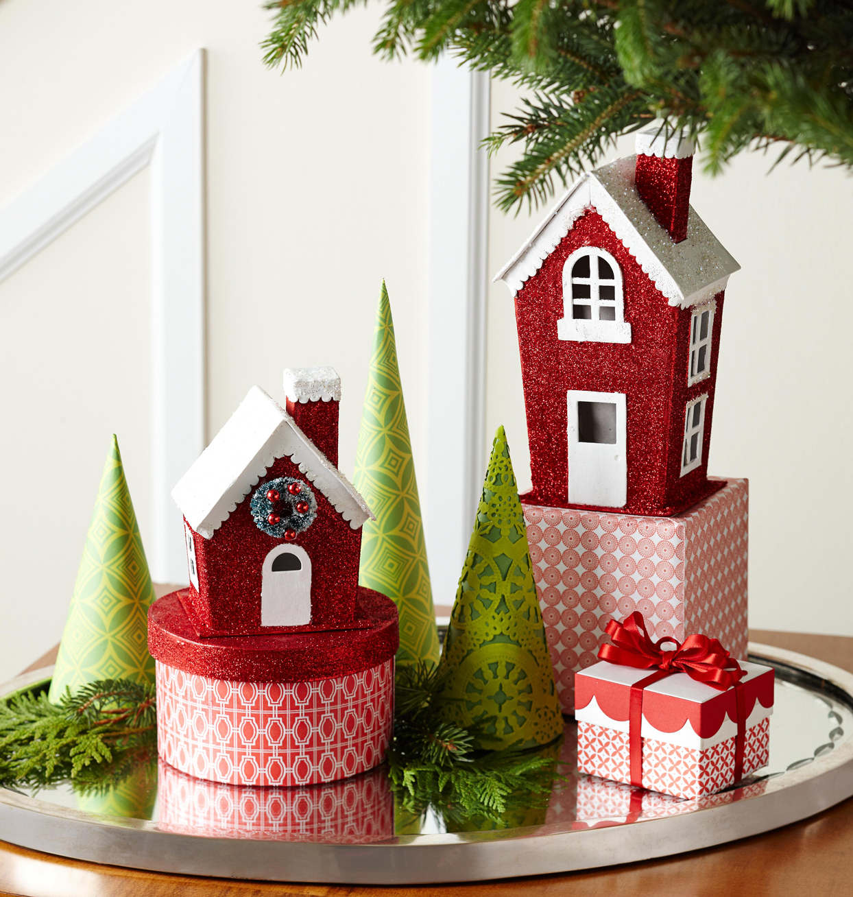 Decorative Christmas houses