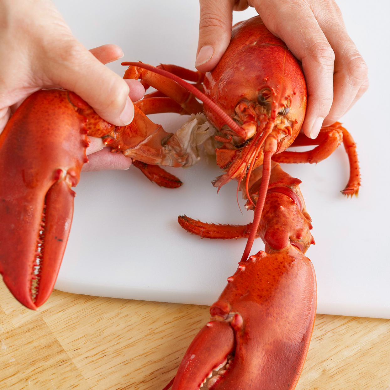 removing lobster claw
