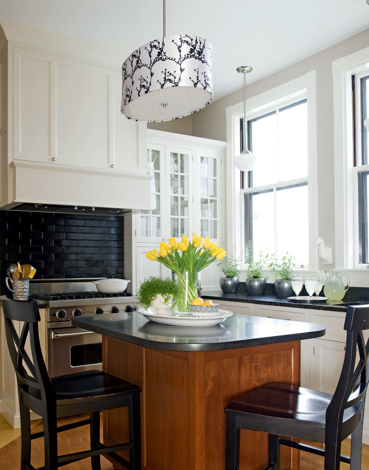 patterned pendant light kitchen