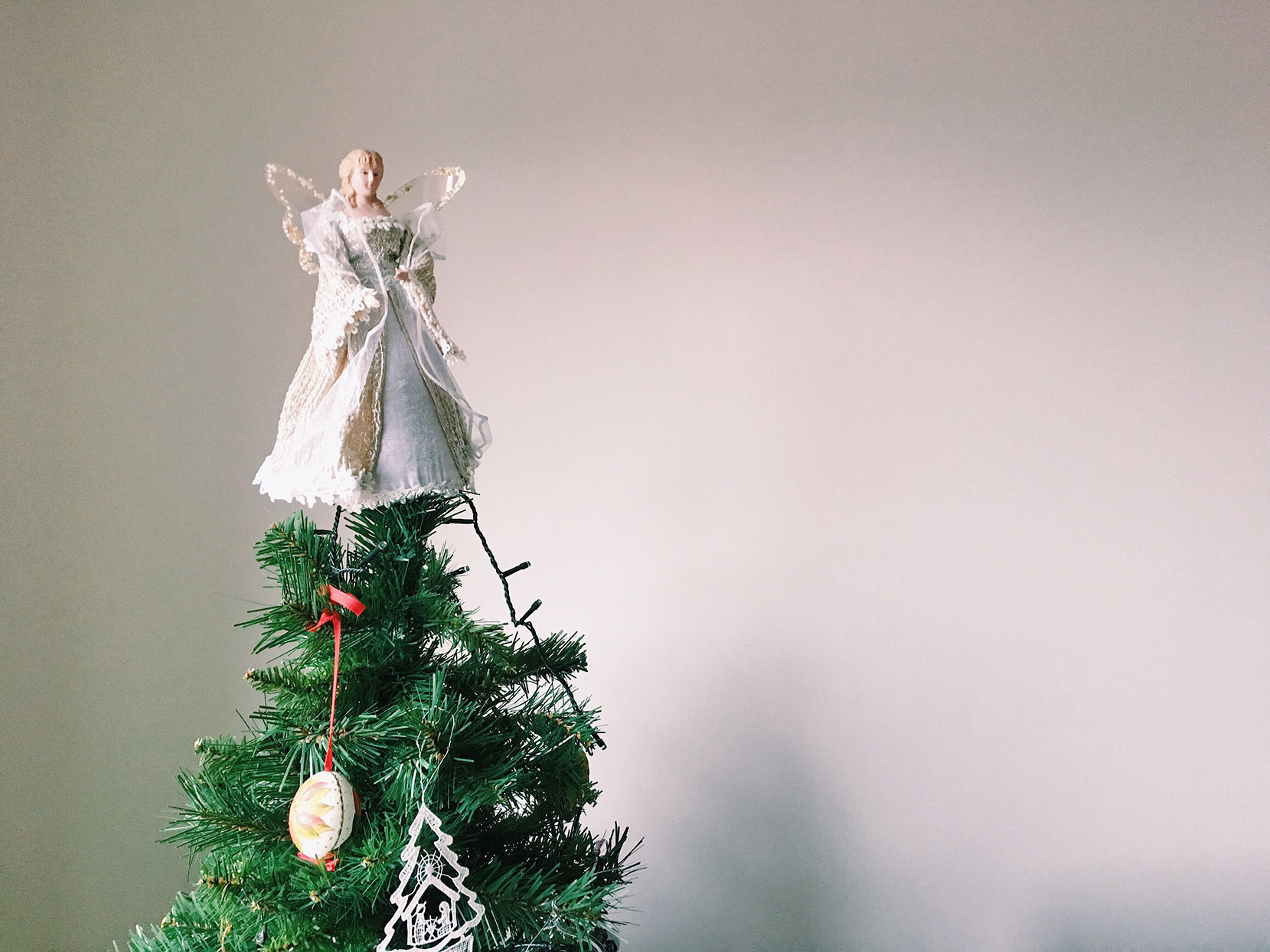 angel christmas tree topper