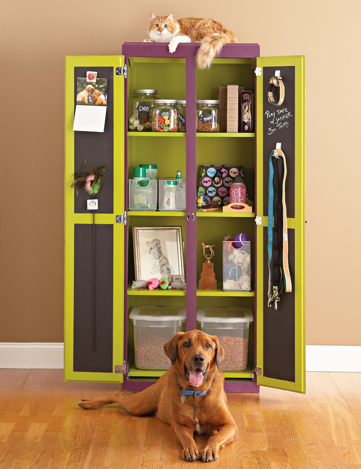 DIY Pet Storage