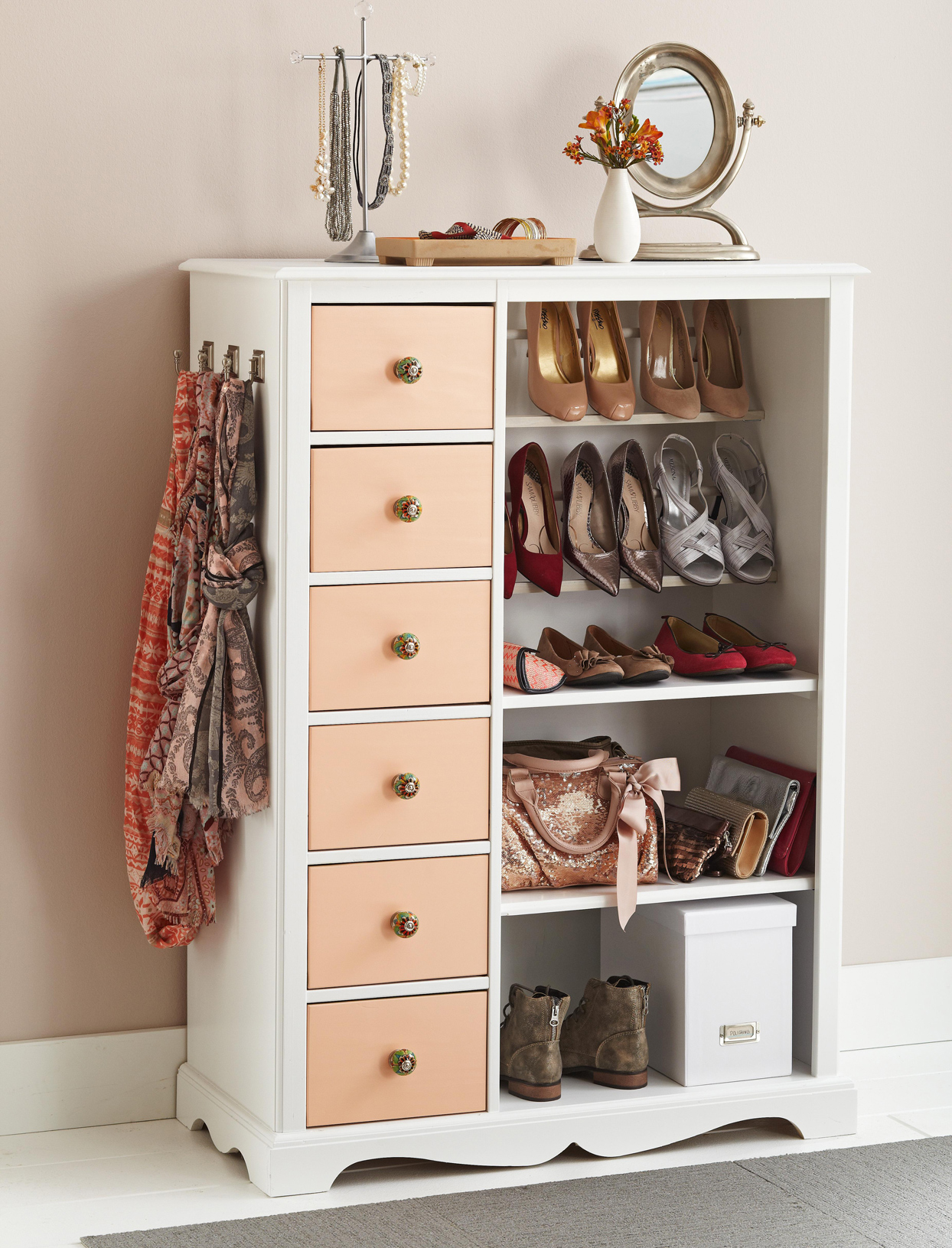 DIY Shoe Storage