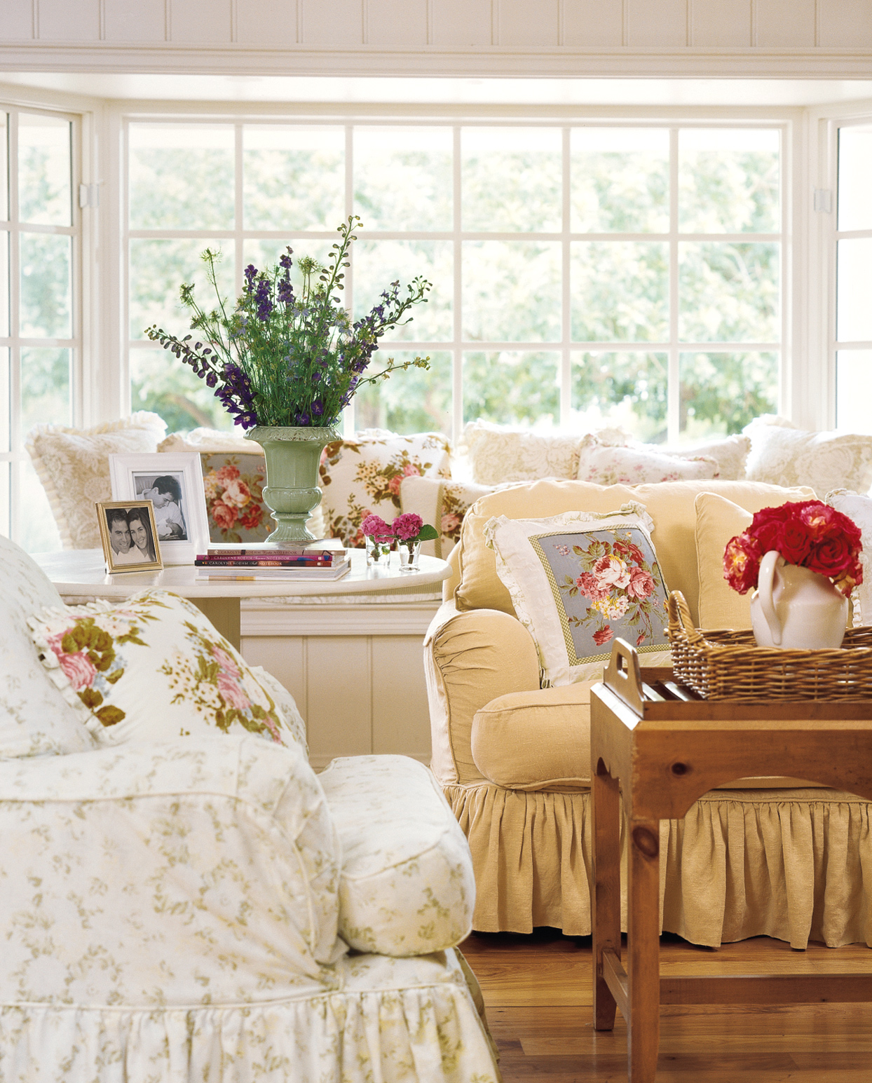 Cozy Slipcovers living room furniture