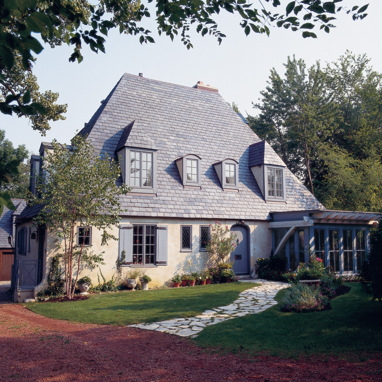 country french style cottage