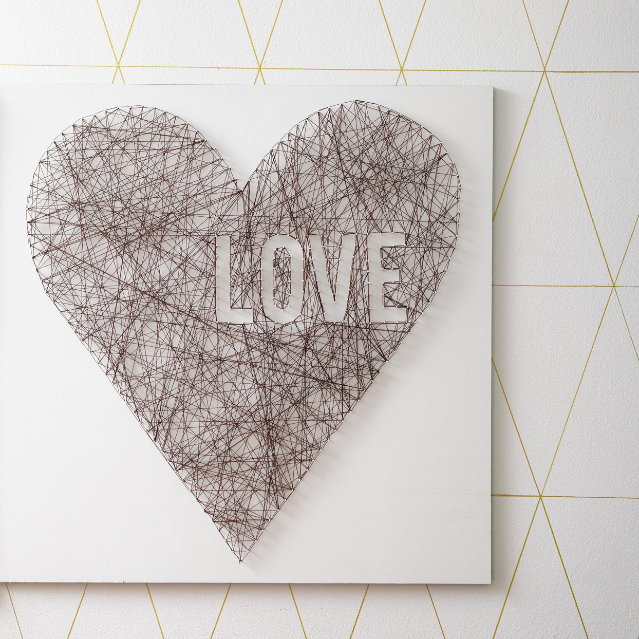 Love Wall String Art