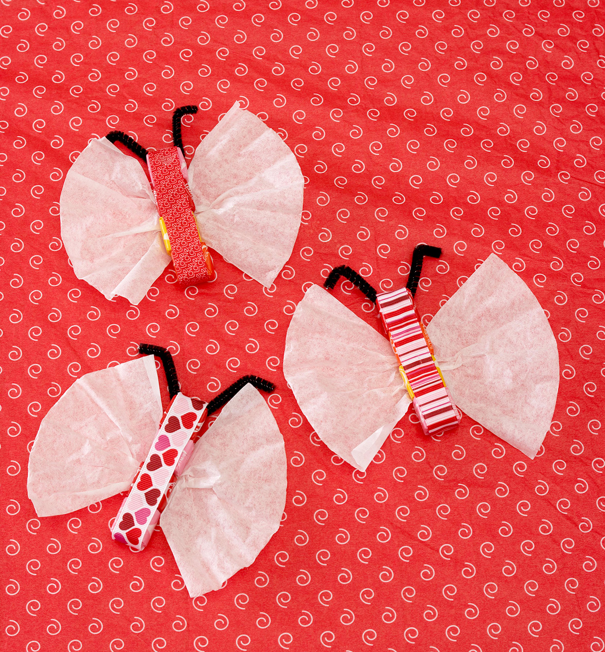 butterfly candy valentines