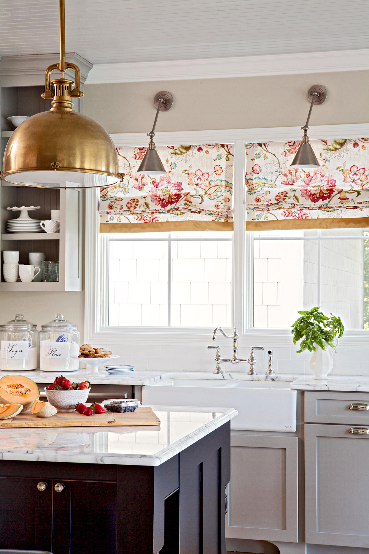 Kitchen Window Treatment Ideas Better Homes Gardens