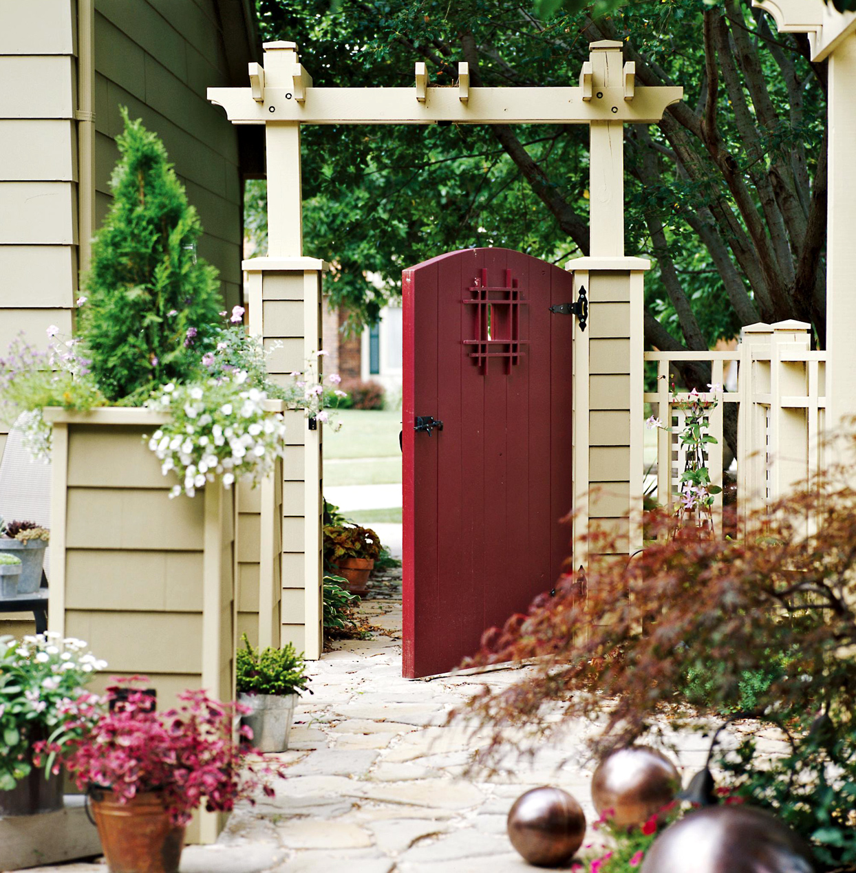 arbor gate matching home