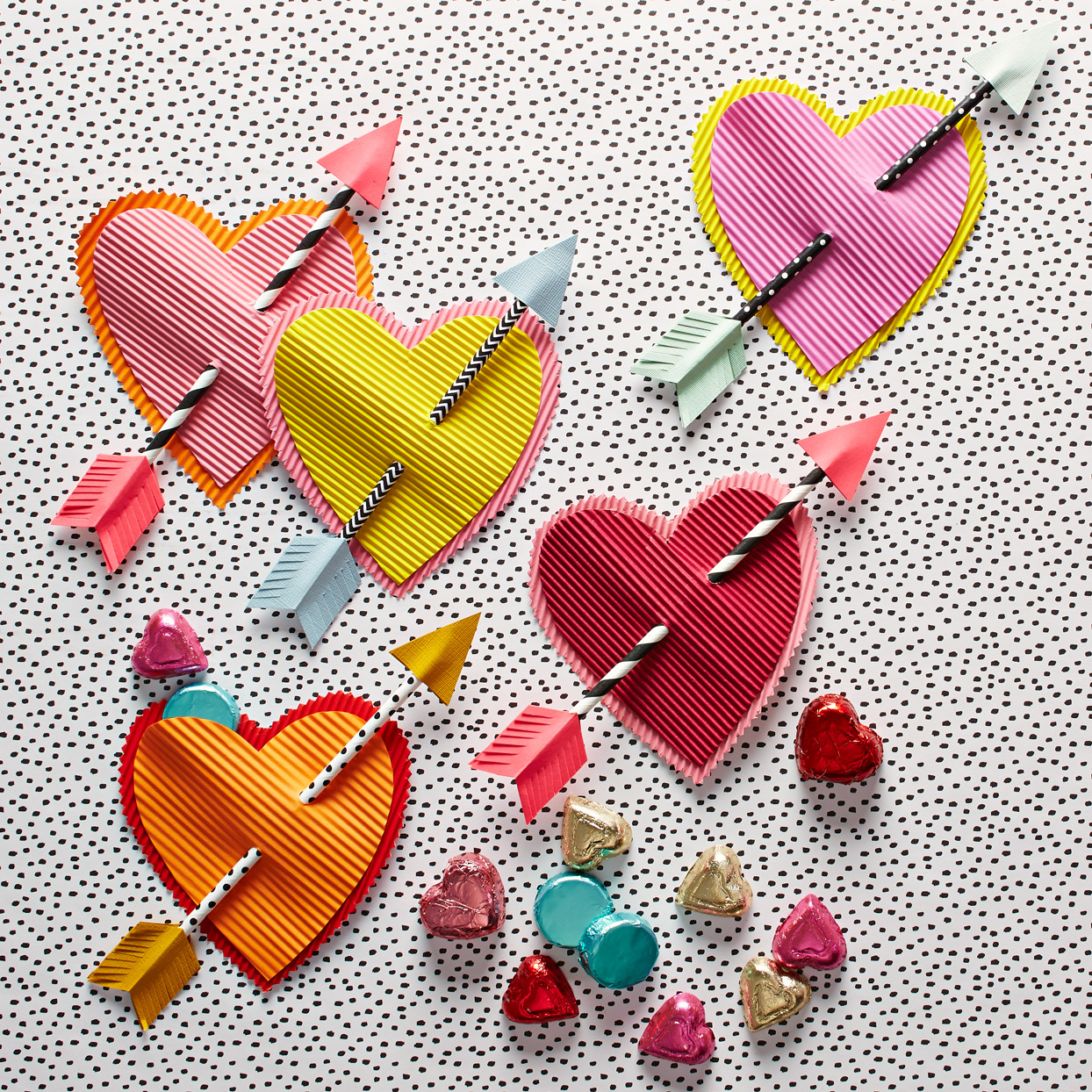 Paper Heart Pocket Valentines