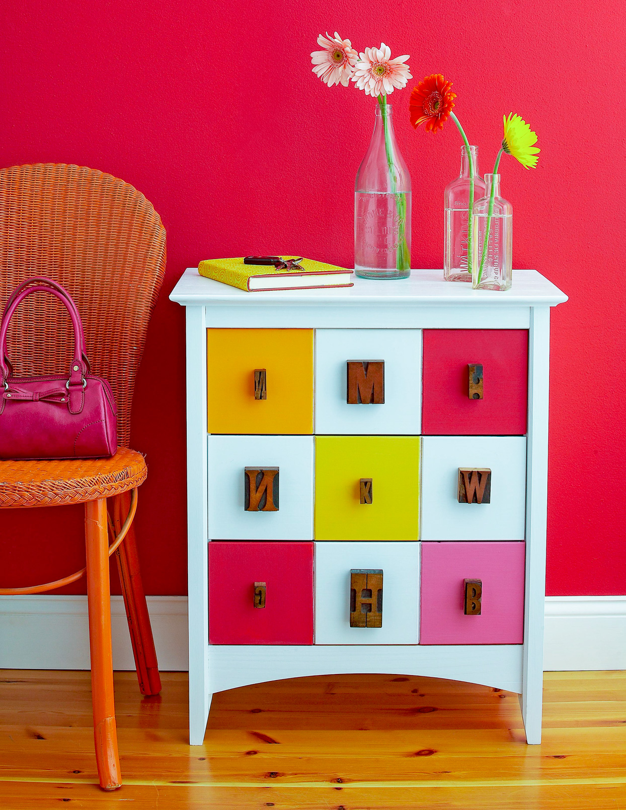 small cabinet painted drawers