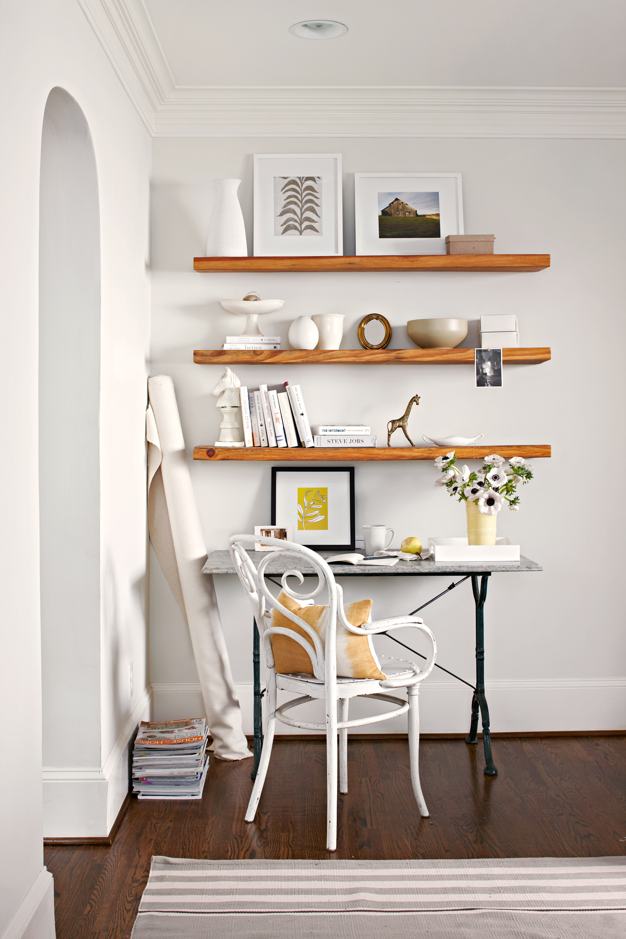 functional office space shelving