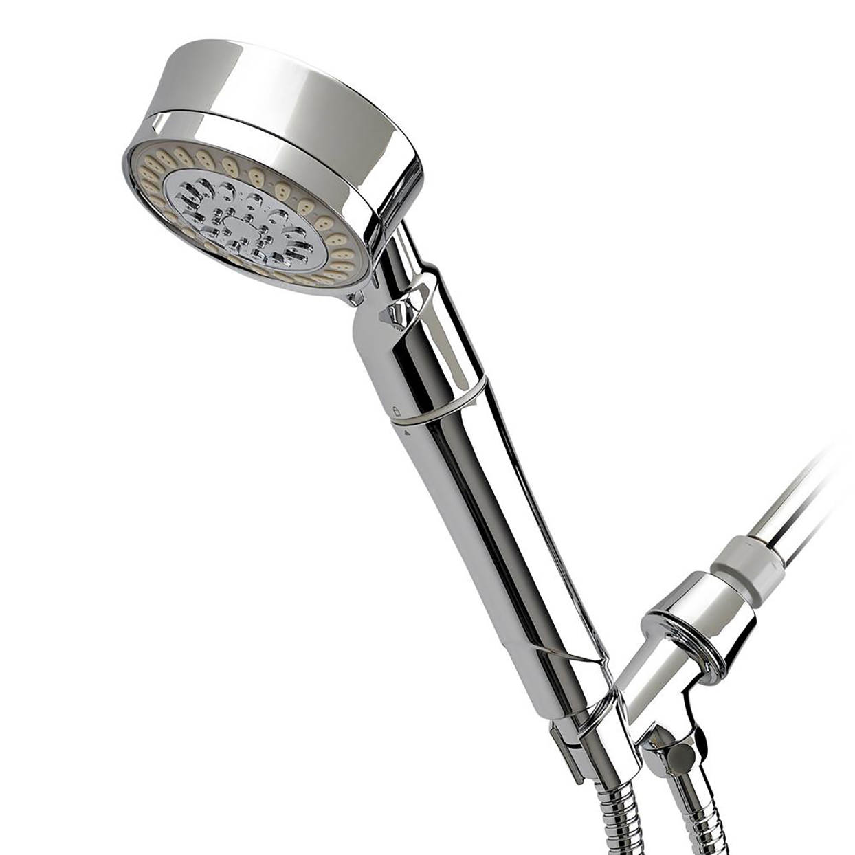handheld shower with water filter