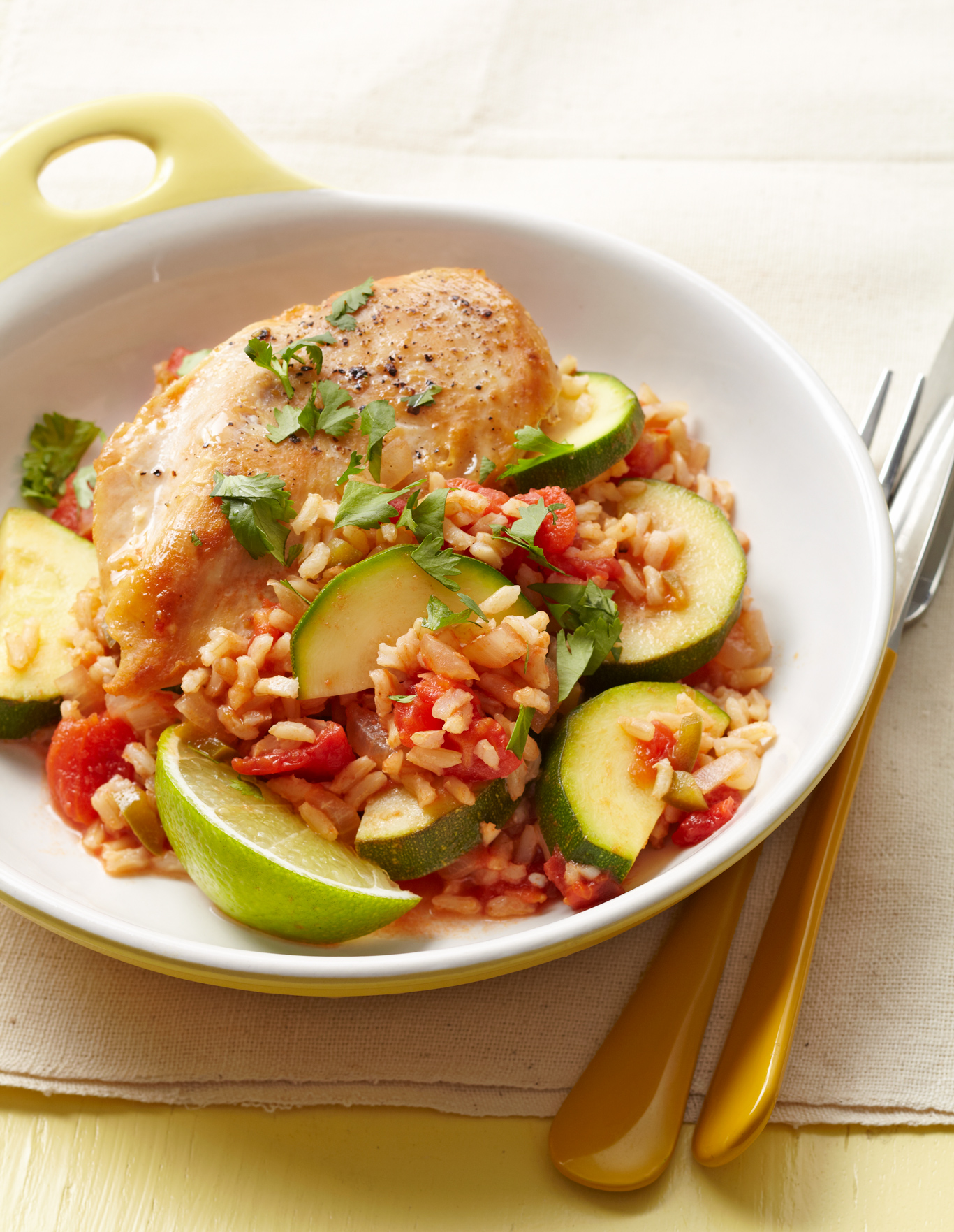 mexican chicken lime rice