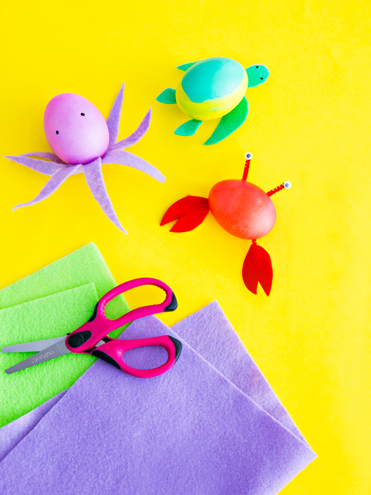 easter egg sea creatures