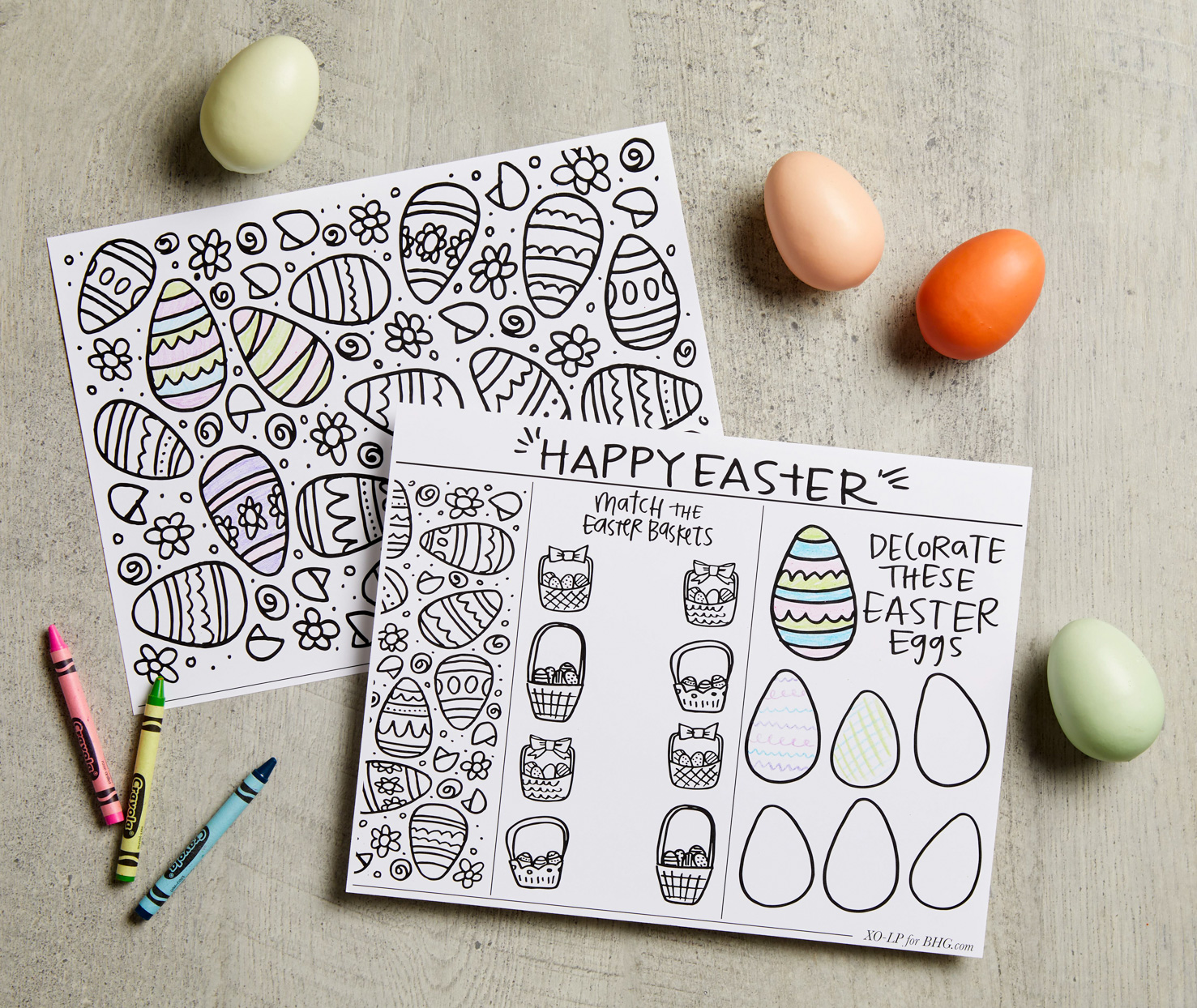 easter printable coloring book pages