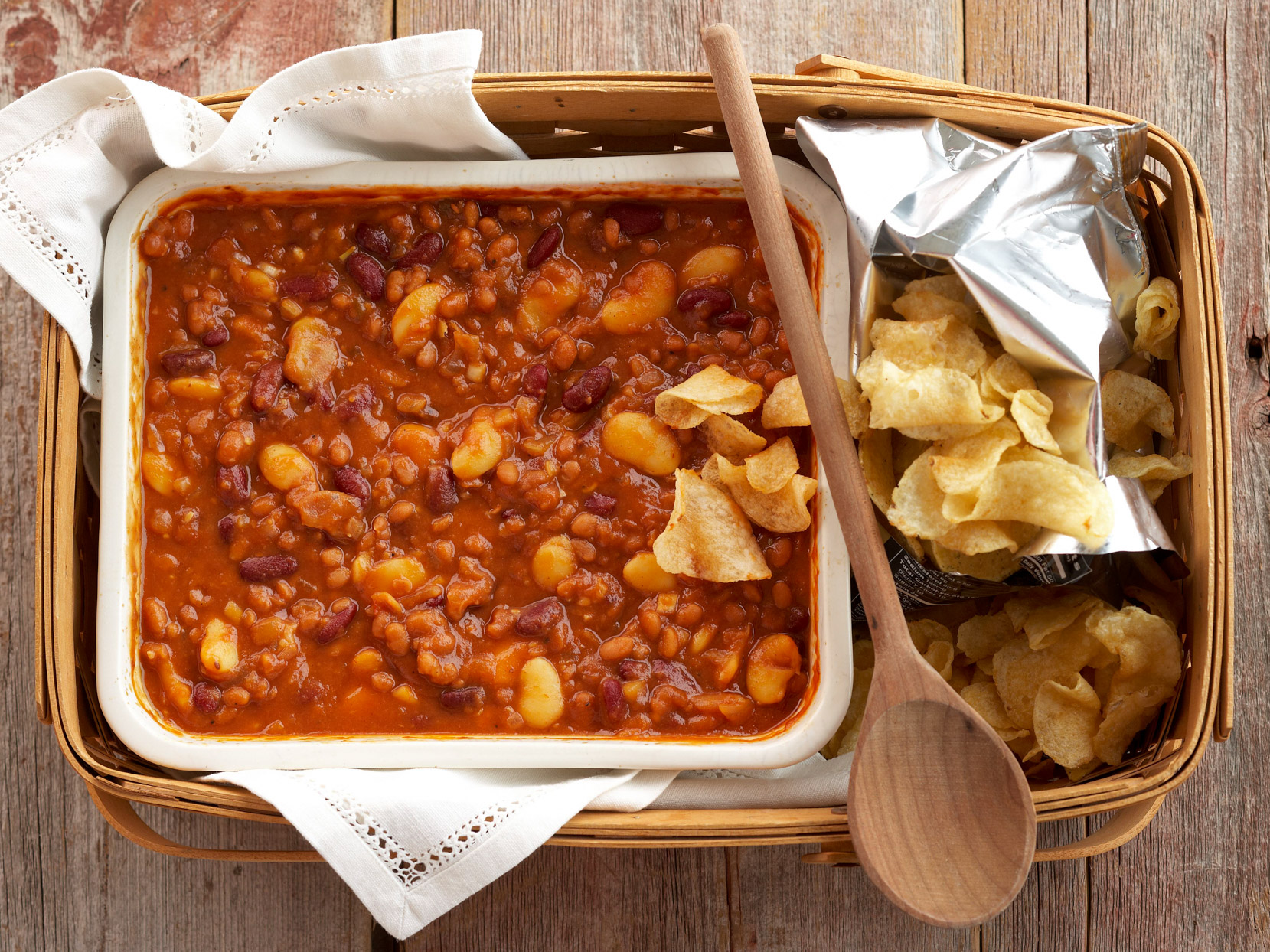 Sweet-Spicy Baked Beans