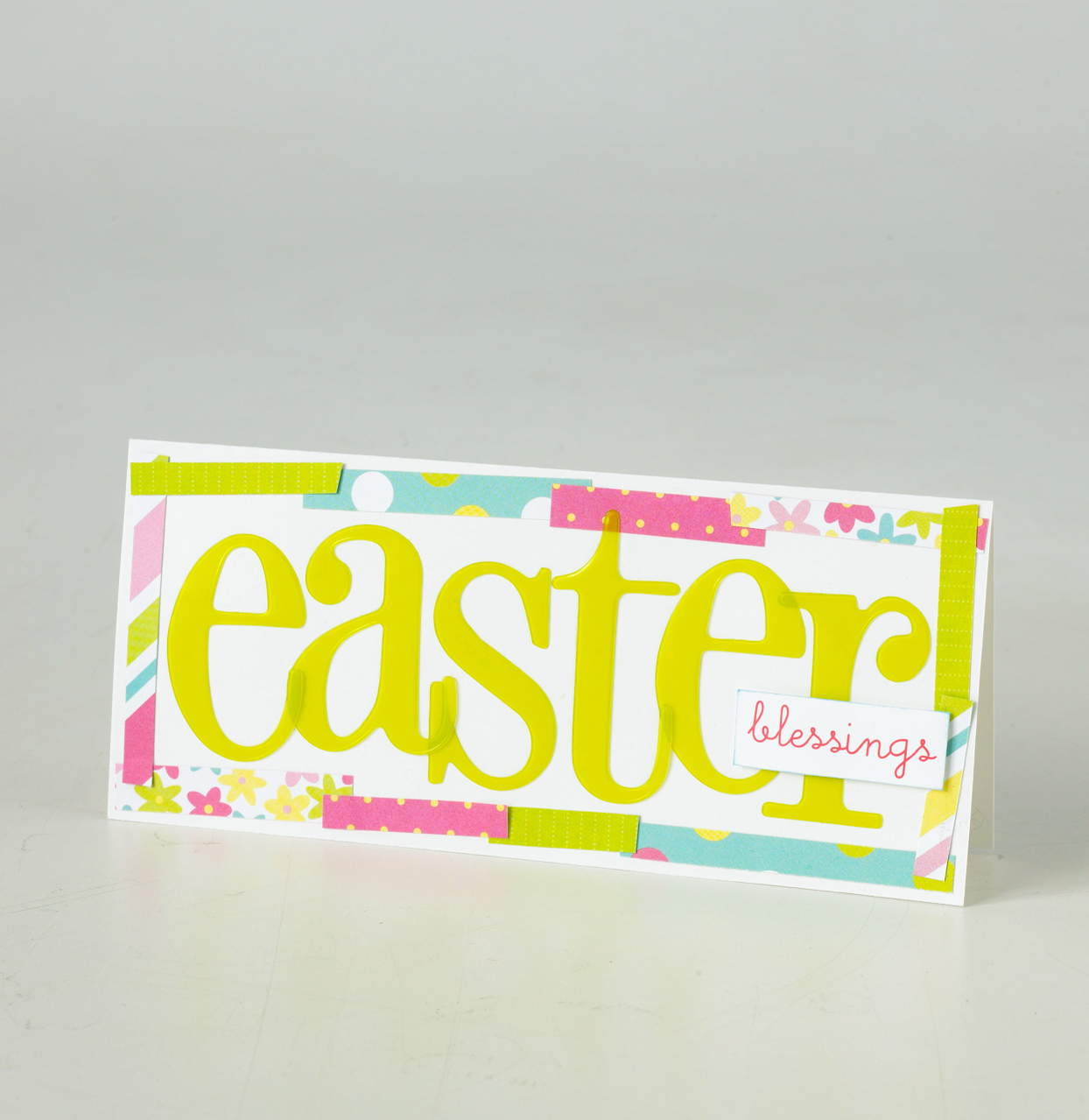 Easter Blessings Text Card