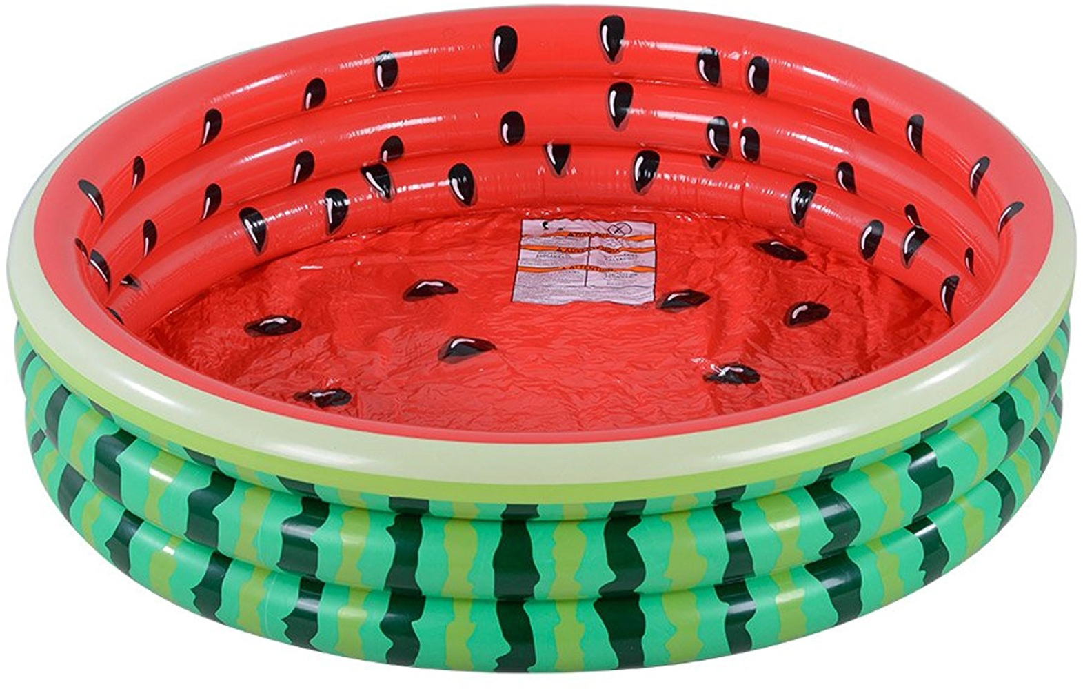 watermelon inflatable pool
