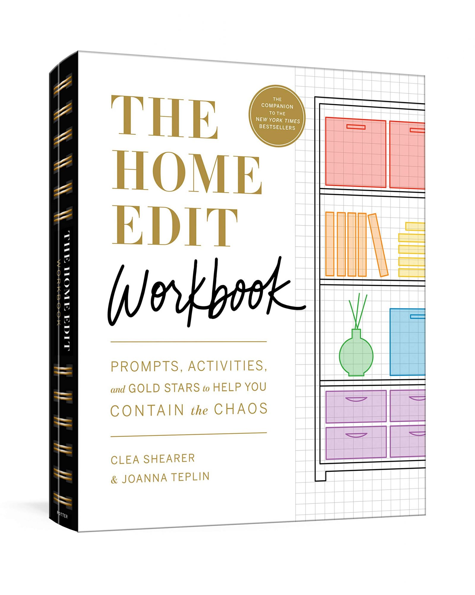 the home edit workbook book cover