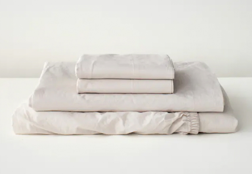 tuft and needle percale sheets