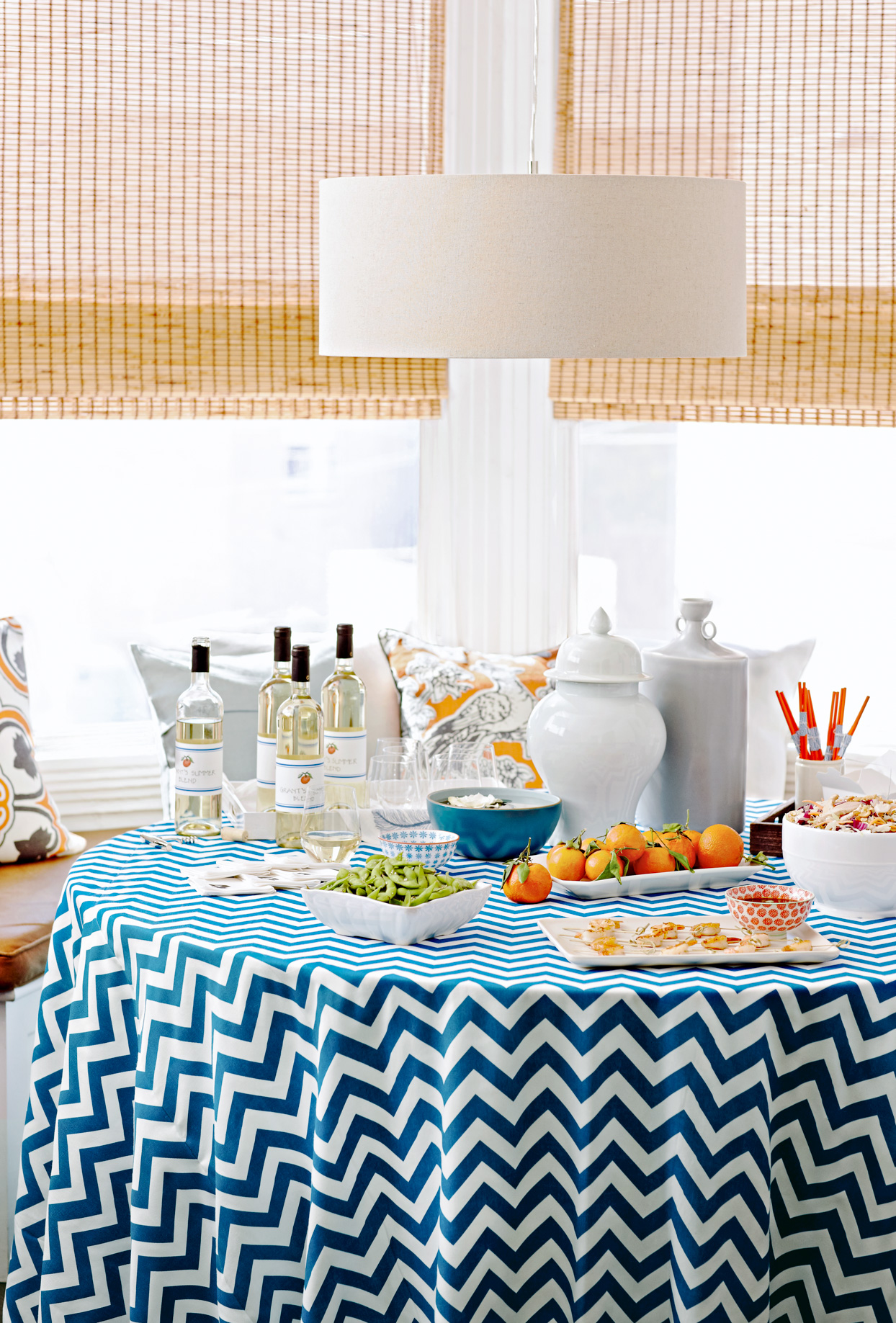 Summer party table display