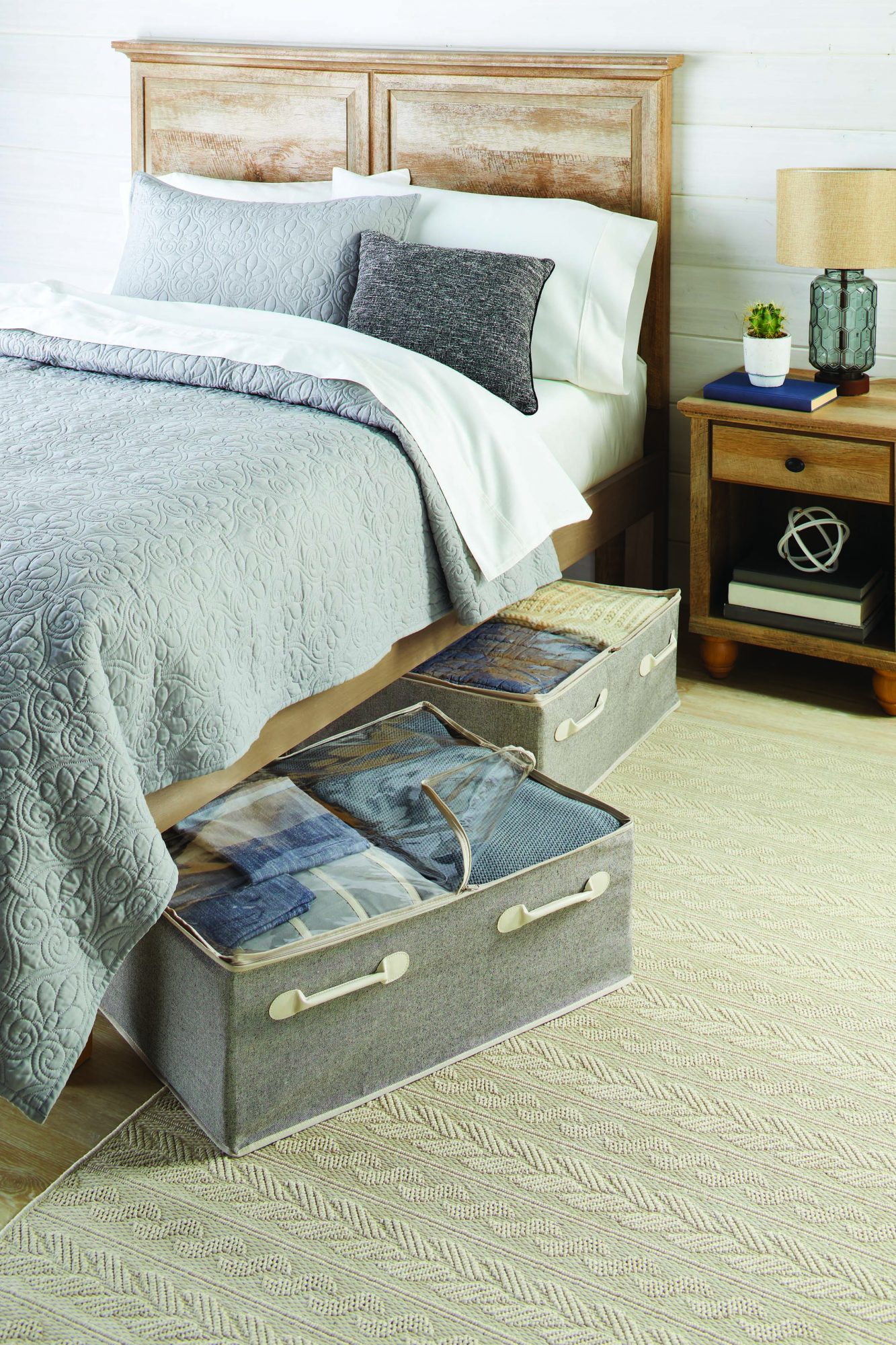 Charleston Collection Underbed Storage Bags
