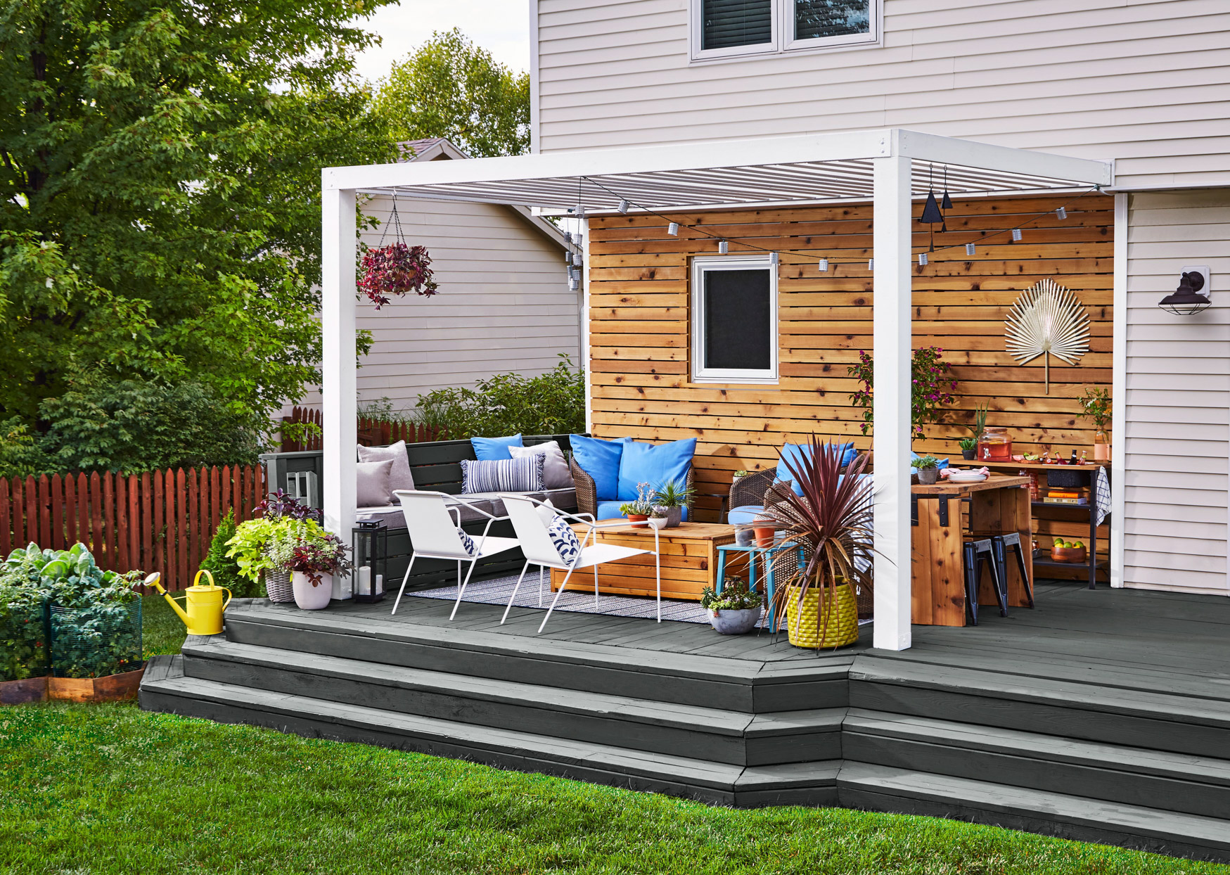8 Small Deck Design Ideas To Expand Your Outdoor Living Potential Better Homes Gardens