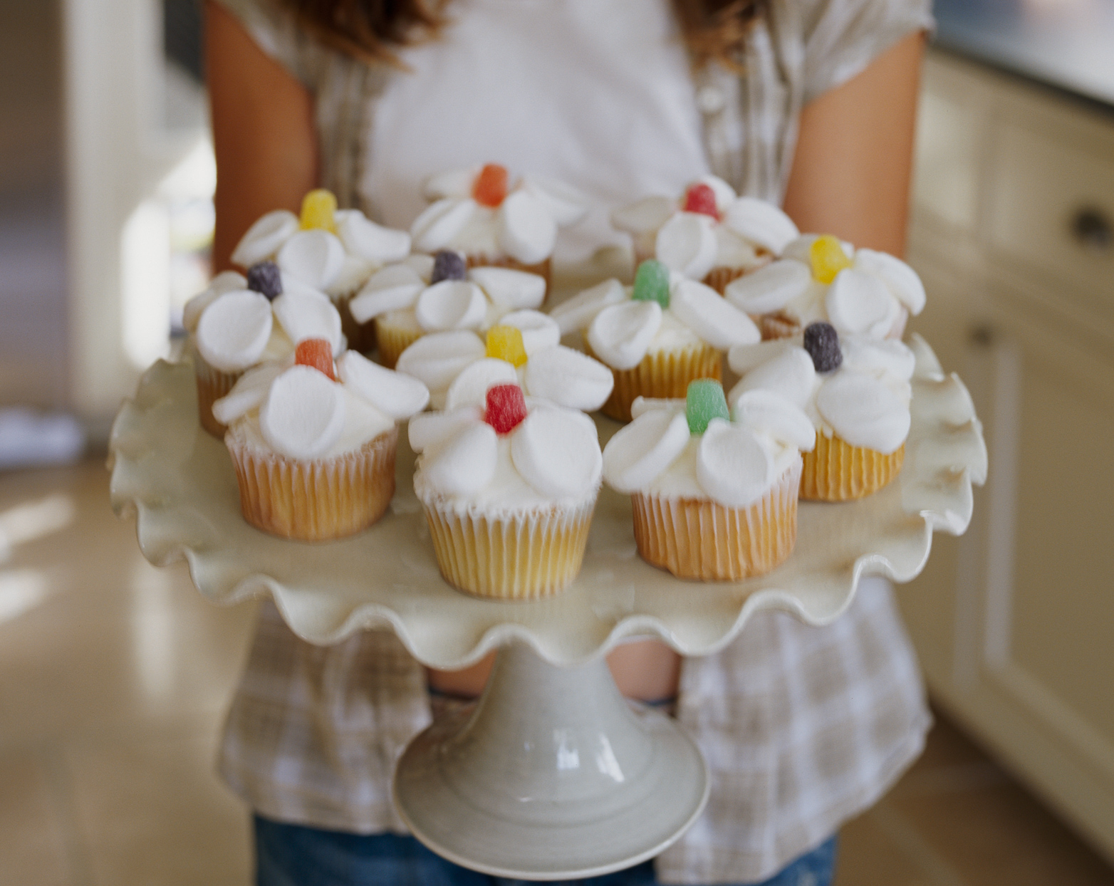 Flower Patch Cupcakes