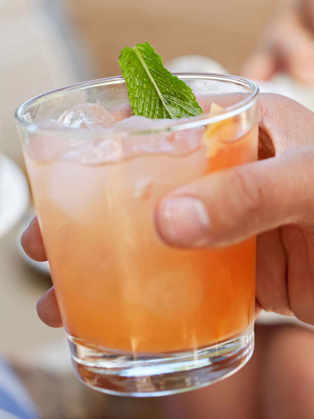 Minted Grapefruit Punch