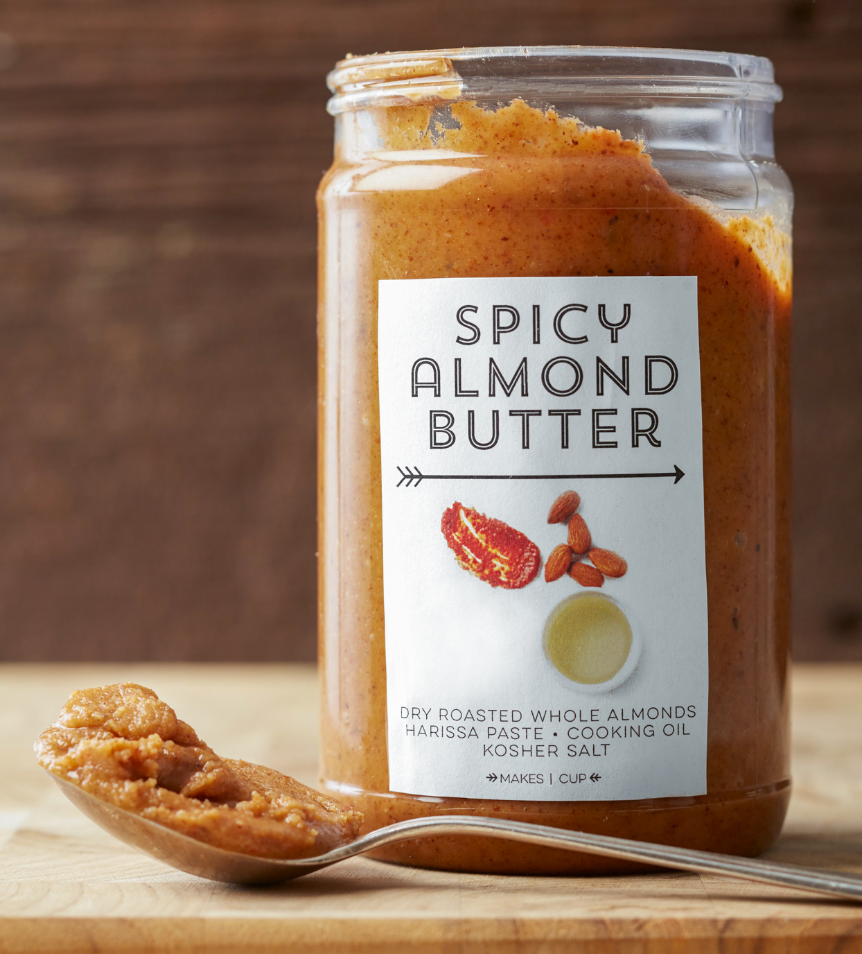 Spicy Almond Butter