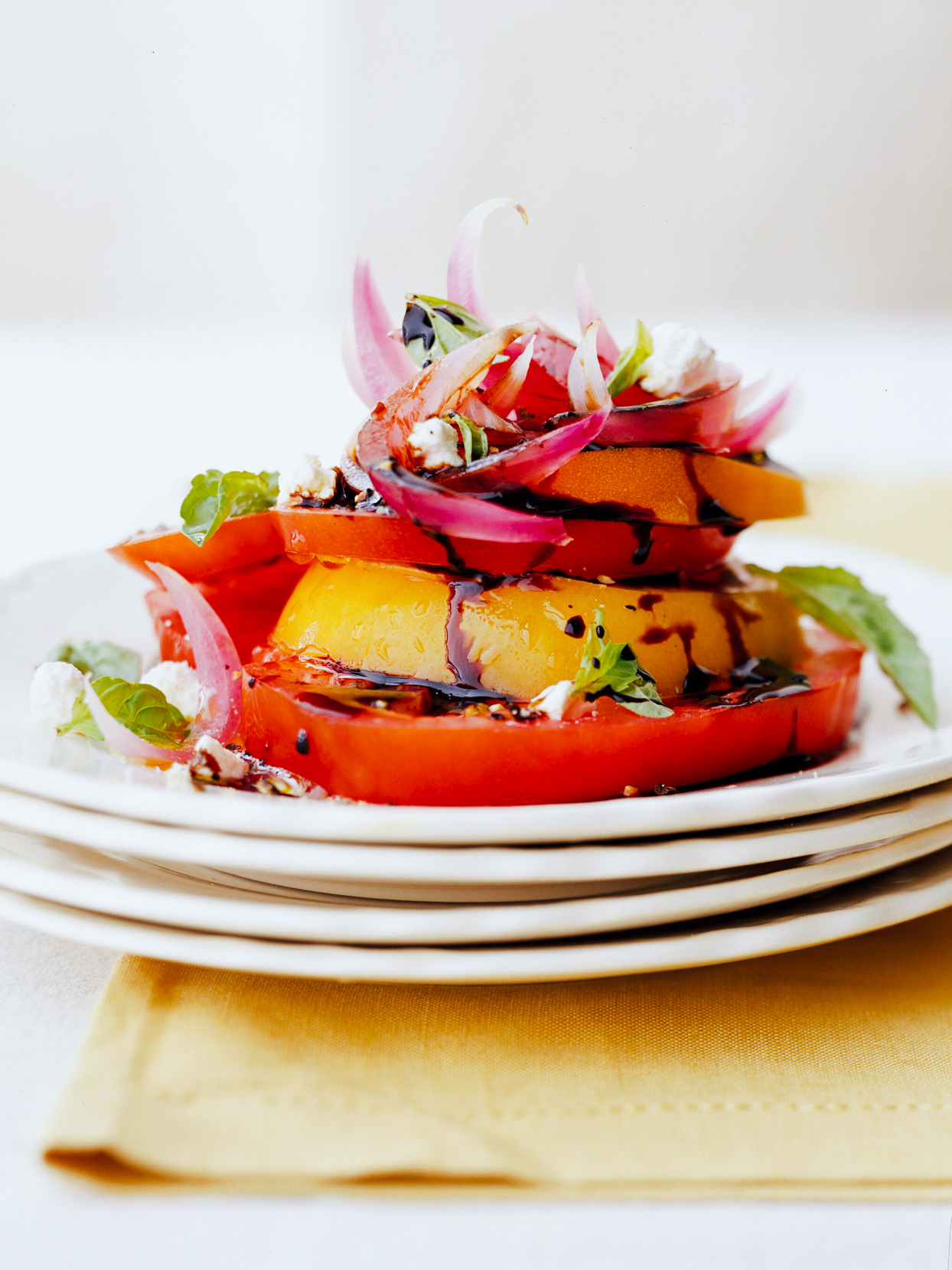 Tomato Salad with Pickled Red Onions