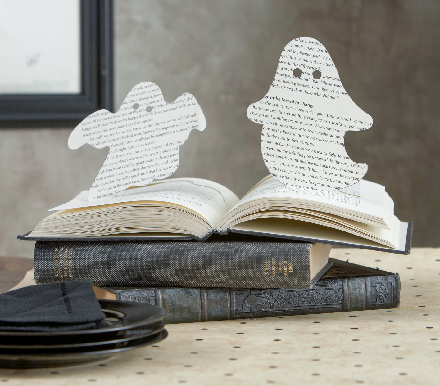 ghost book popup