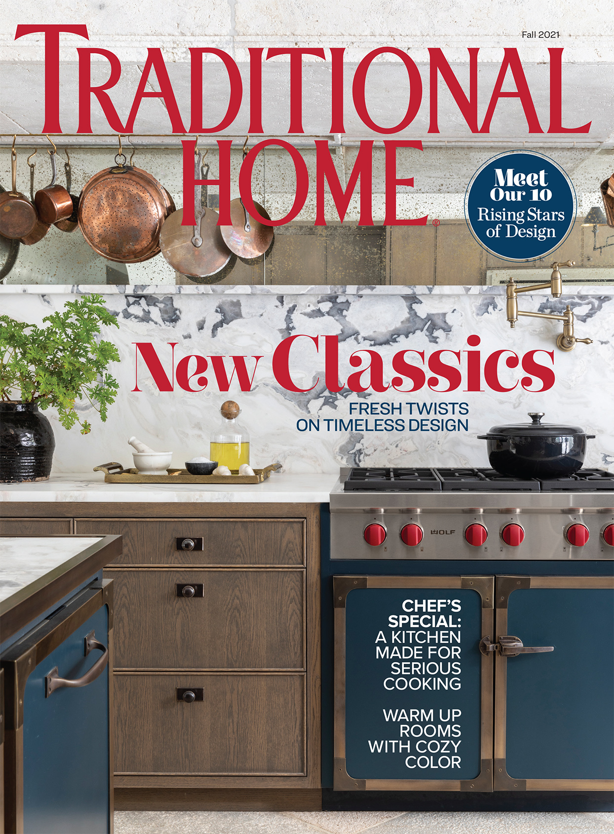 cover of traditional home magazine fall 2021 issue
