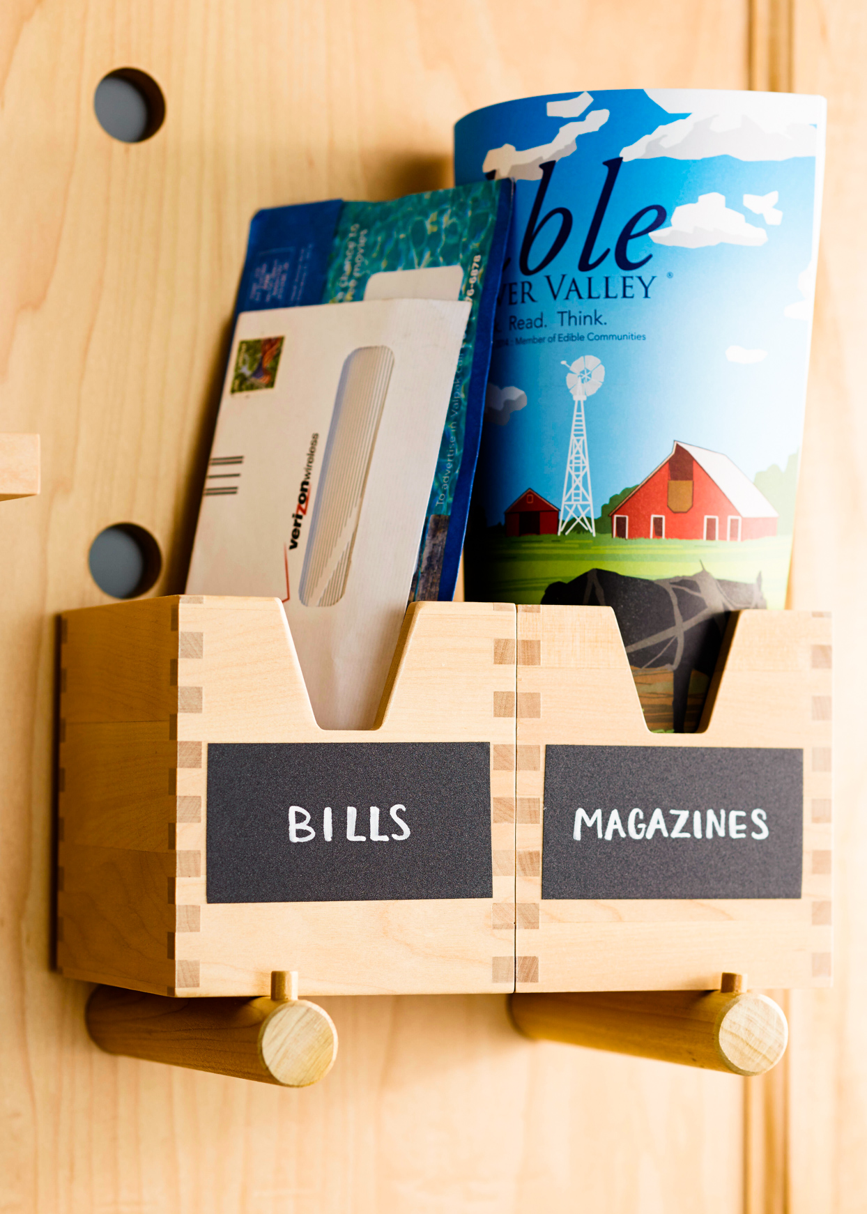 wooden mail boxes