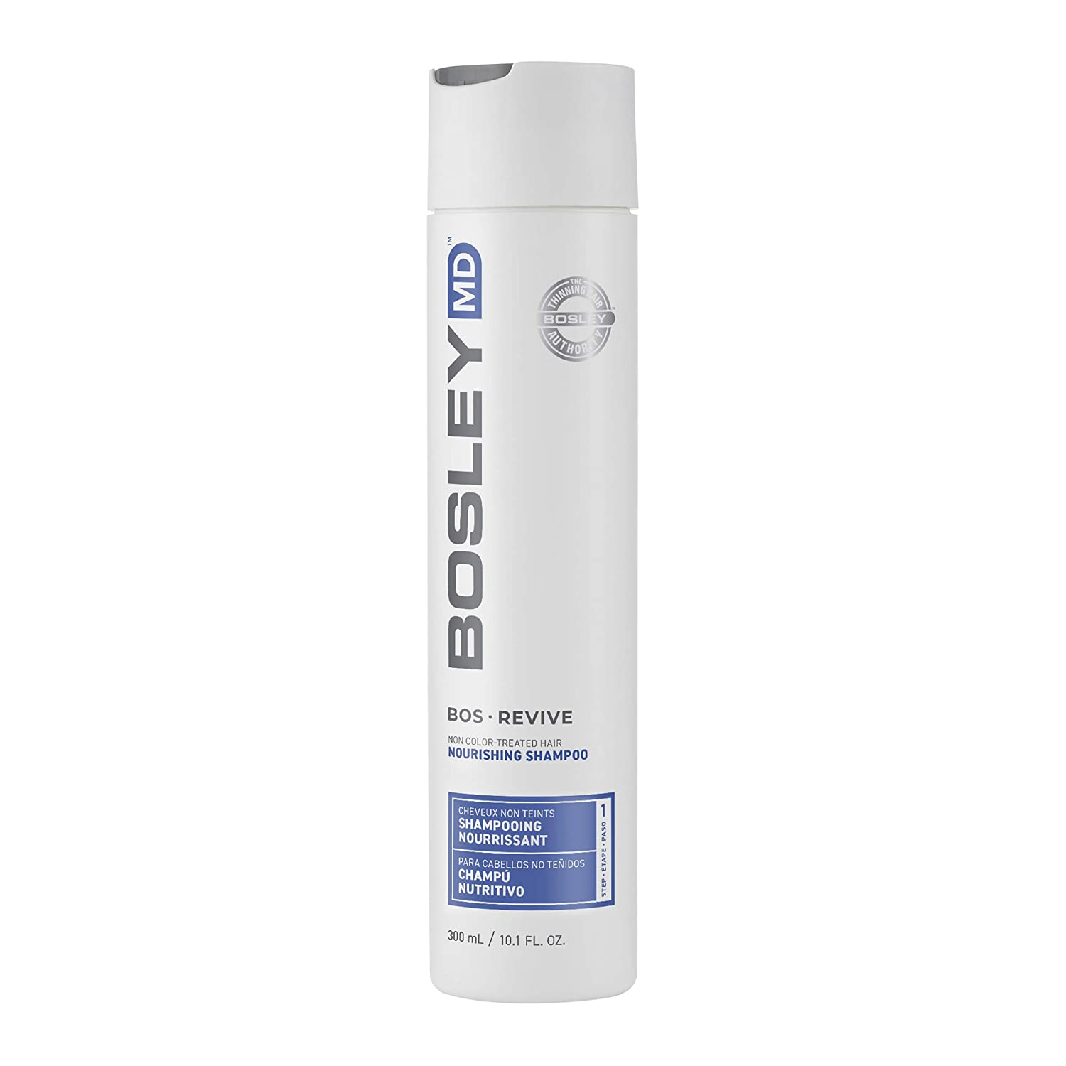 BosleyMD Nourishing Shampoo, Hair Care for Thinning Prevention or Visible Hair Loss