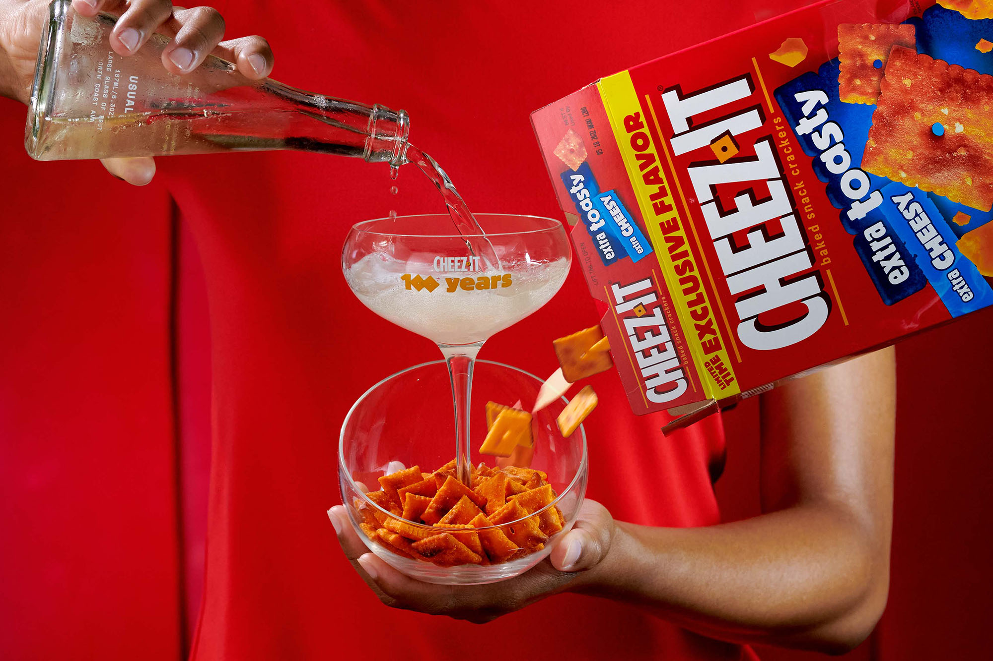 Cheez-It x Usual Wines So Extra Toasty Experience Bundle