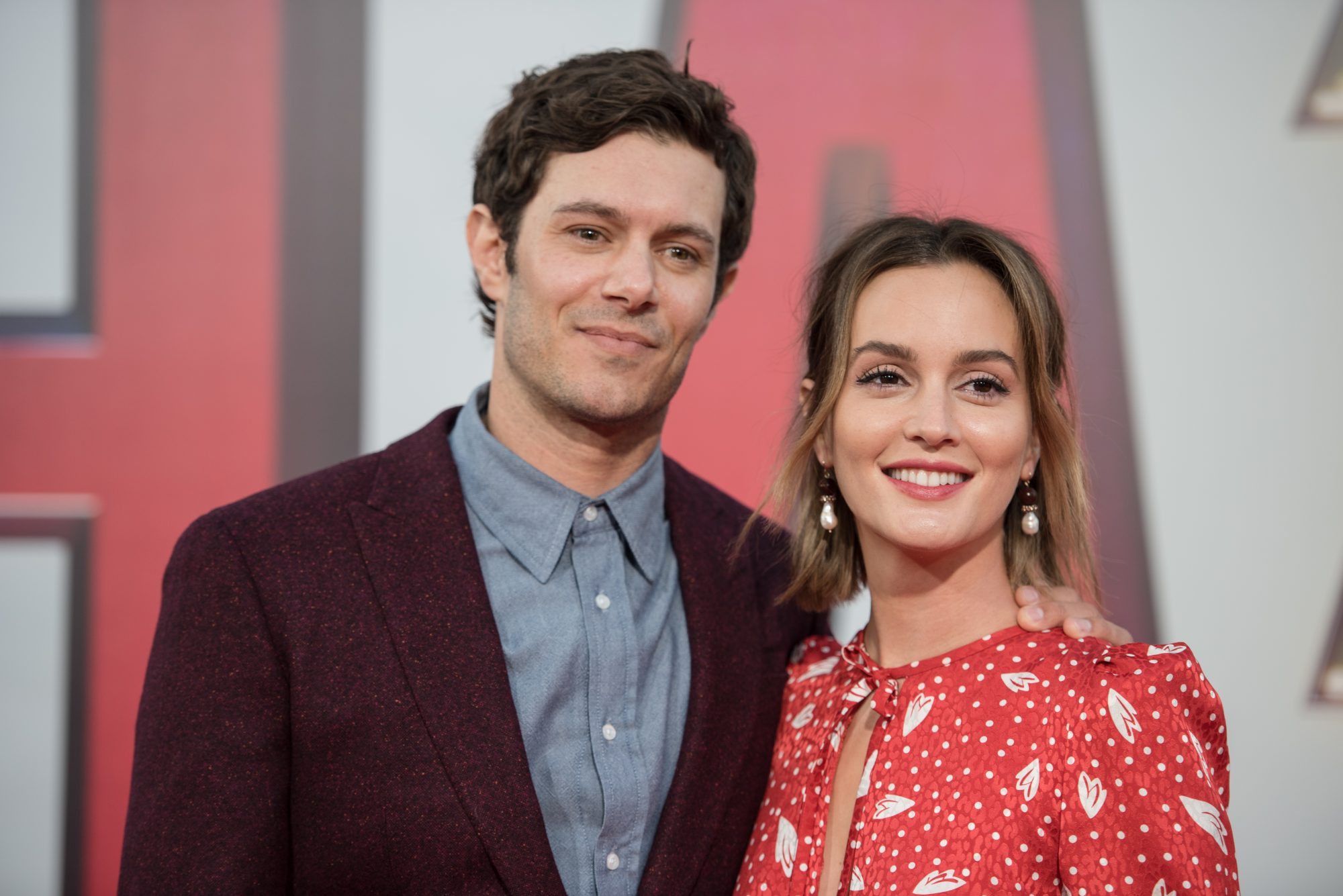 Adam Brody and Leighton Meester