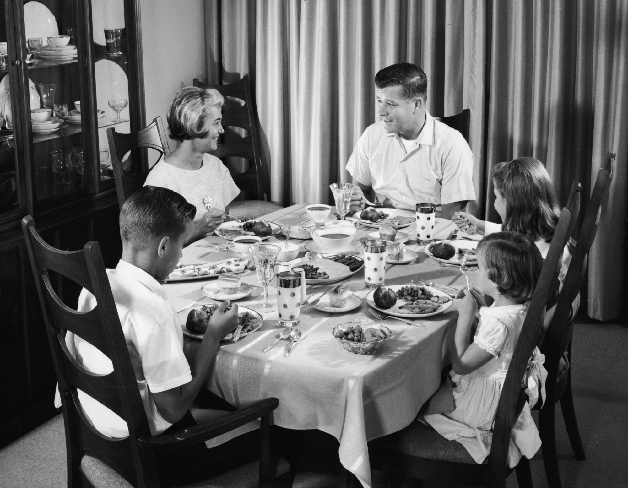 """""""Family dinner is not a construct, it's a feeling."""""""